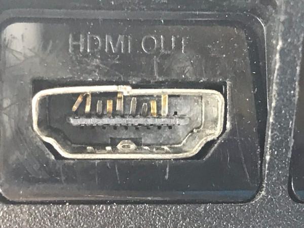 שקע hdmi שבור playstation 4