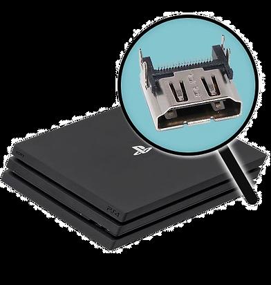 החלפת שקע HDMI לסוני 4