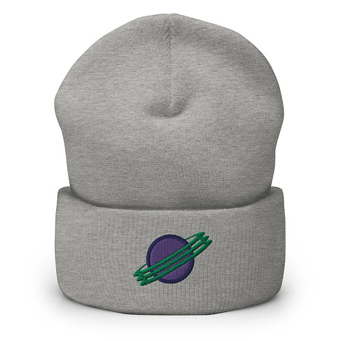 PEER PRESSURE - Planet Embroidery Beanie