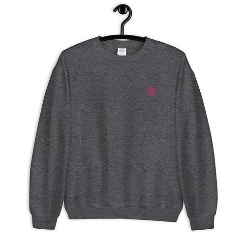 PEER PRESSURE - Rose Embroidery Sweater
