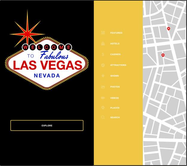 XD Prototype - Vegas Travel