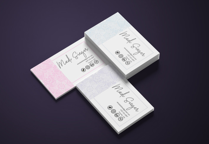 Business Card Mockup - Personal