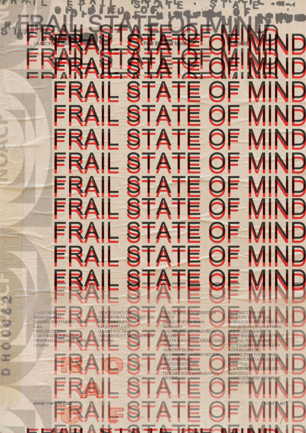 Frail State Of Mind - Poster Concept