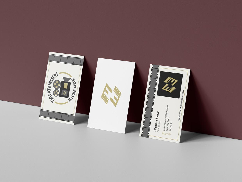 Business Card Mockup - Entertainment Essence