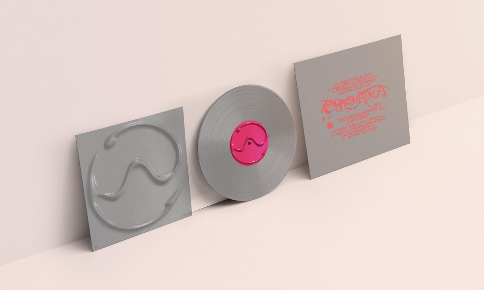 Chromatica Vinyl Mockup