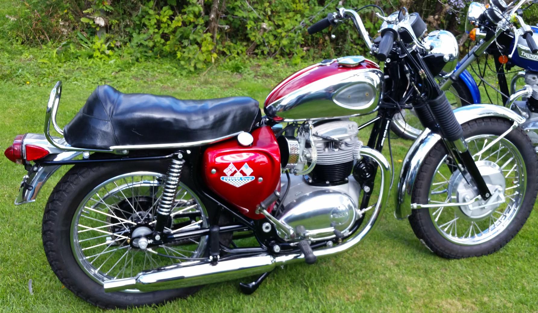 1970 650 BSA Firebird