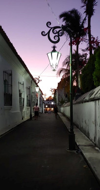 Jan15, 2020 Sunset on the town square.