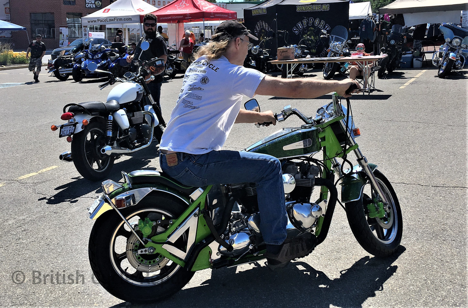 Double Trouble at Rideau Rendezvous Bike Rally 2018