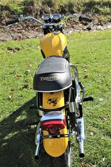 1969 Triumph Trophy TR6P motorcycle
