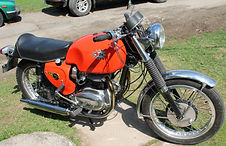 1966 650 BSA Spitfire motorcycle