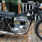 1968 650 Triumph Bonneville motorcycle r