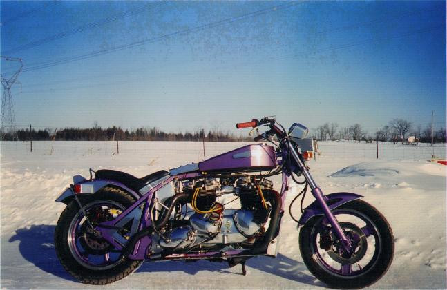 Double Engine Motorcycle 1995
