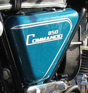 1973 850 Norton Commando motorcycle