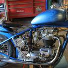 Custom 650 Triumph Chopper motorcycle re