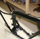 1970 Gemini SST Motor Bikes painting and