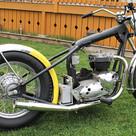 1973 750 Triumph Bonneville motorcycle -