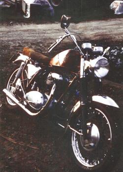 1964 BSA A65C 650 motorcycle