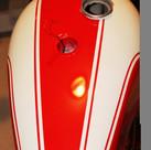 1973 750 Triumph Bonneville motorcycle p