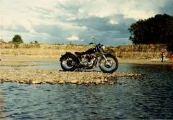 1971 Triumph 650 Bonneville motorcycle
