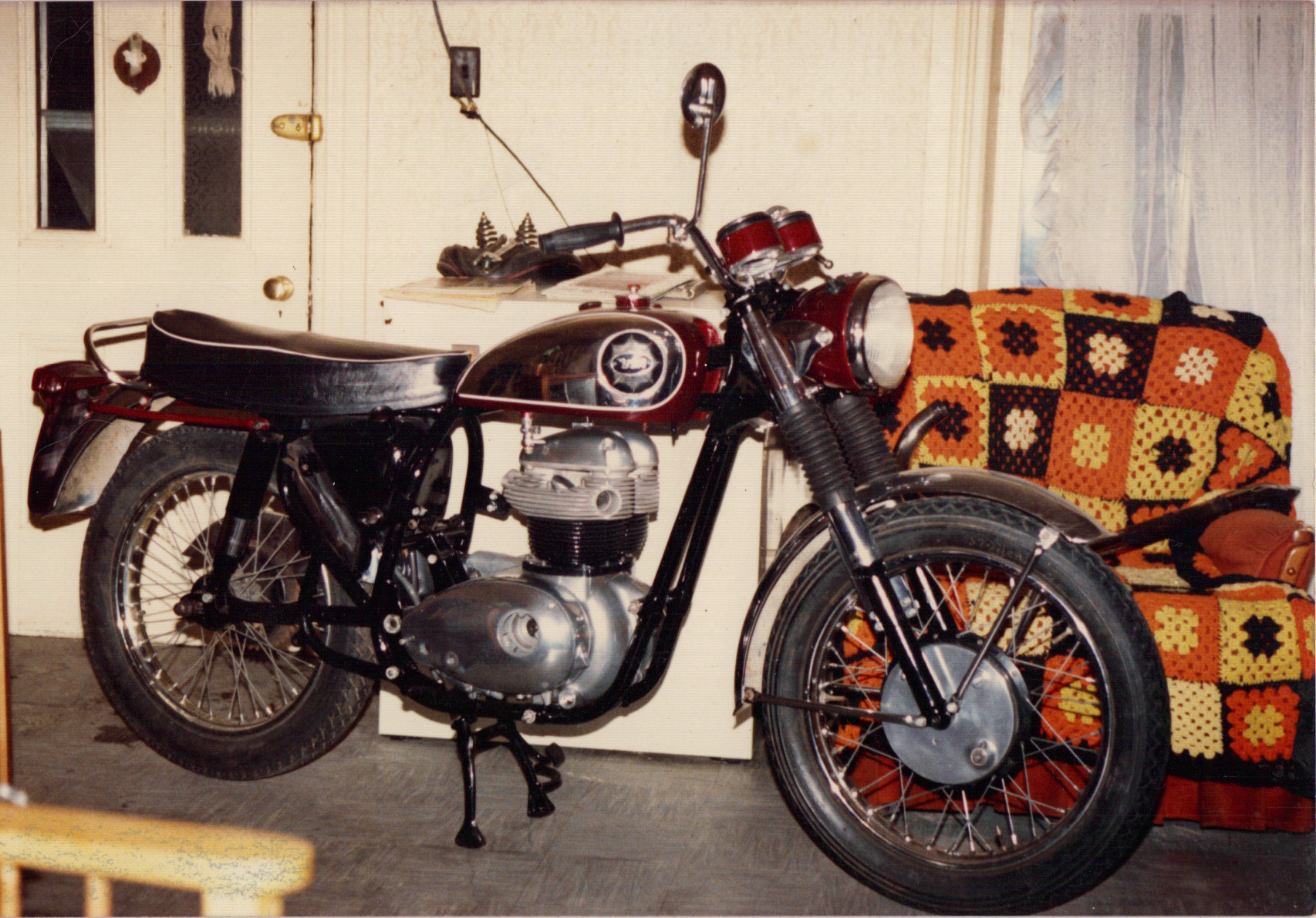 1964 650 BSA A65D motorcycle