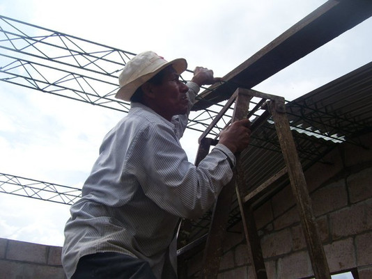 Prepping for the roof