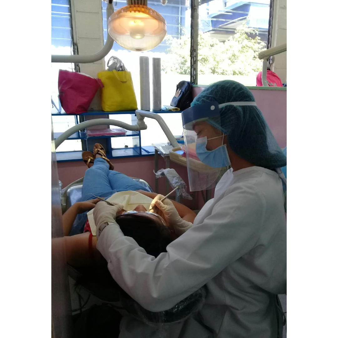 Jacqueline, Otra Fe sponsored Dentistry student