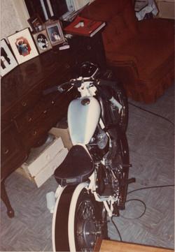 1961 BSA A-10 650 motorcycle