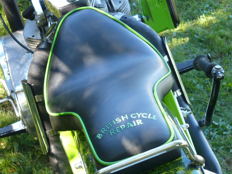 Double Engine's custom seat