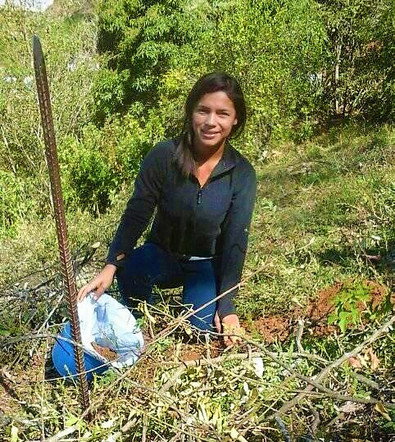Maria has now successfully completed her schooling in Agronomy