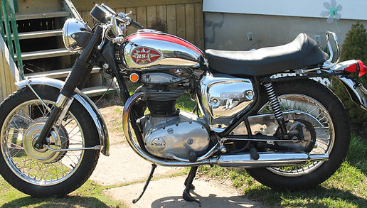1969 650 BSA Thunderbolt motorcycle