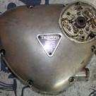 1968 650 Triumph Bonneville motorcycle b