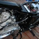 1973 Triumph Bonneville motorcycle rebui
