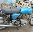 1973 850 Norton Commando motorcycle befo
