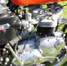 1973 750 Triumph Bonneville motorcycle b
