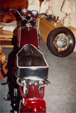 1964 650 BSA A65D motorcycle
