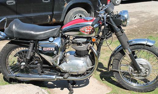1969 650 BSA Thunderbolt motorcycle