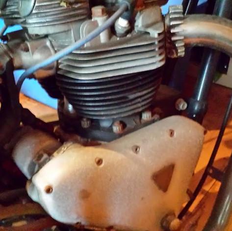 1960 Triumph Trophy TR6 rebuild