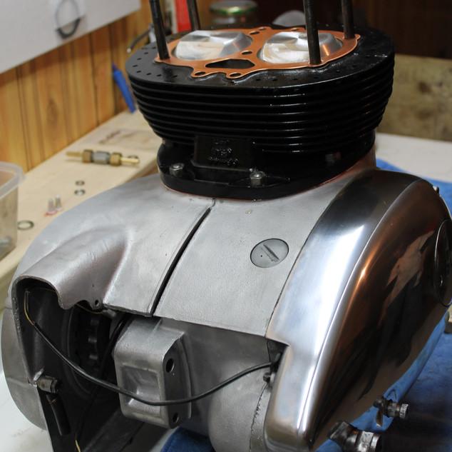 1966 650 BSA Spitfire engine restoration
