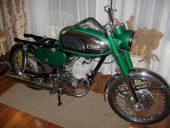 1967 Yamaha 180 Electric motorcycle