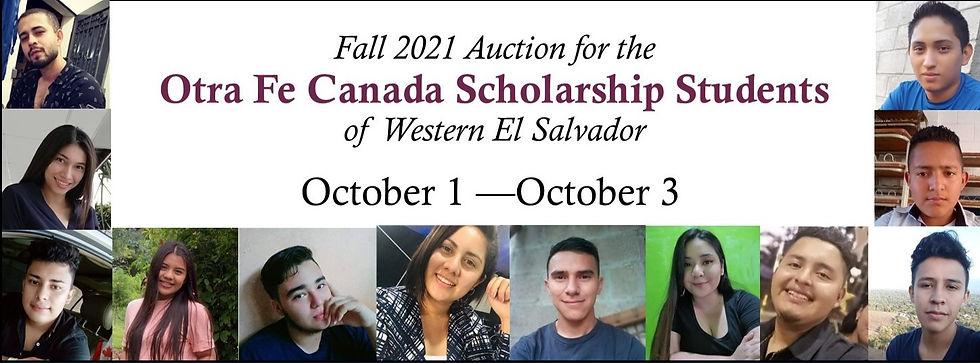 Scholarship students 2021