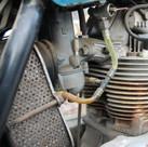 1973 850 Norton Commando motorcycle engi