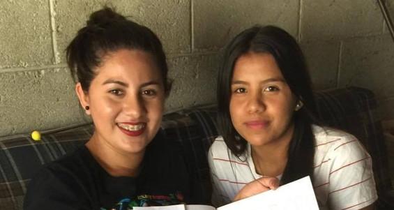 Yansi & Ana, Otra Fe sponsored students