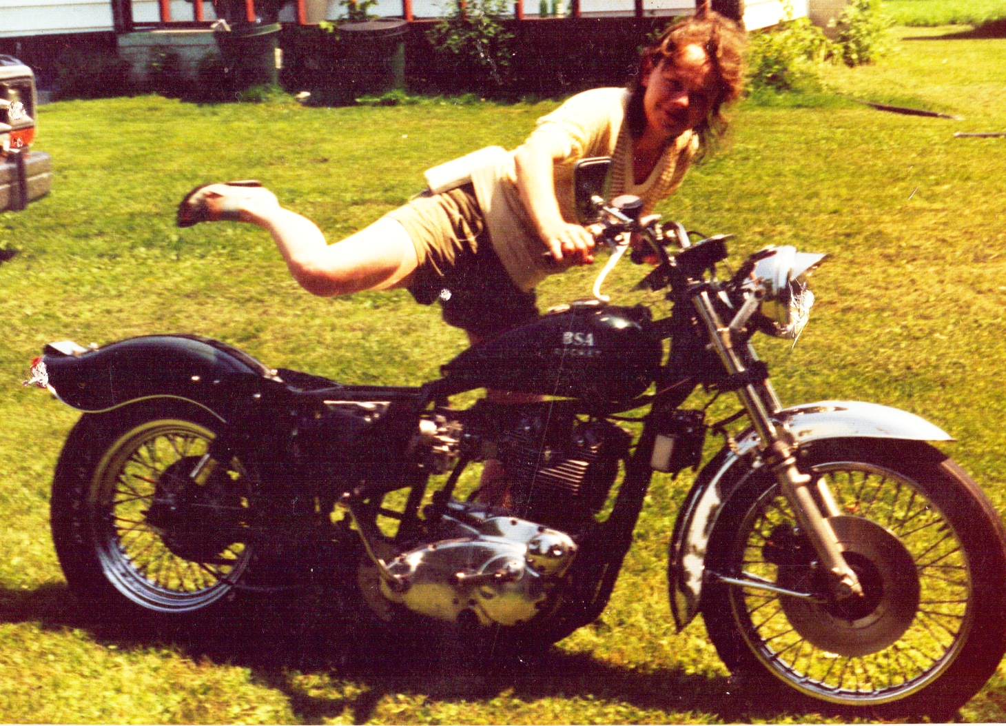 1969 Rocket 3 motorcycle