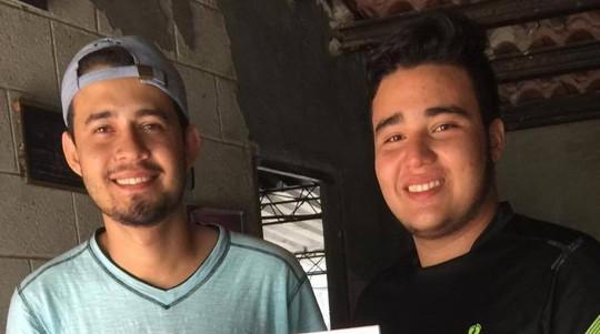 Jose Carlos & Miguel Alexander, Otra Fe sponsored students