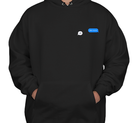 Less Than Three Hooded Sweatshirt