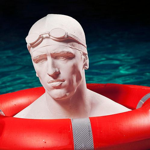 Swimmer. 100 x 100 cm. 2007.