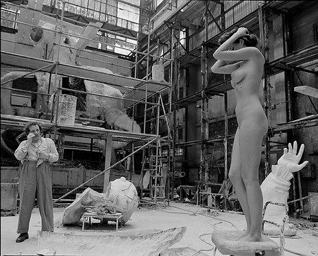 "From seriеs ""Sculptor"". Model. 2002."