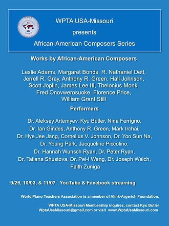 WPTA African-American Composers Concert.