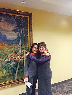 Karen Joy Fowler, Gail Tsukiyama, Kearney Library Author Speakers Series, Writers for WaterBridge Outreach