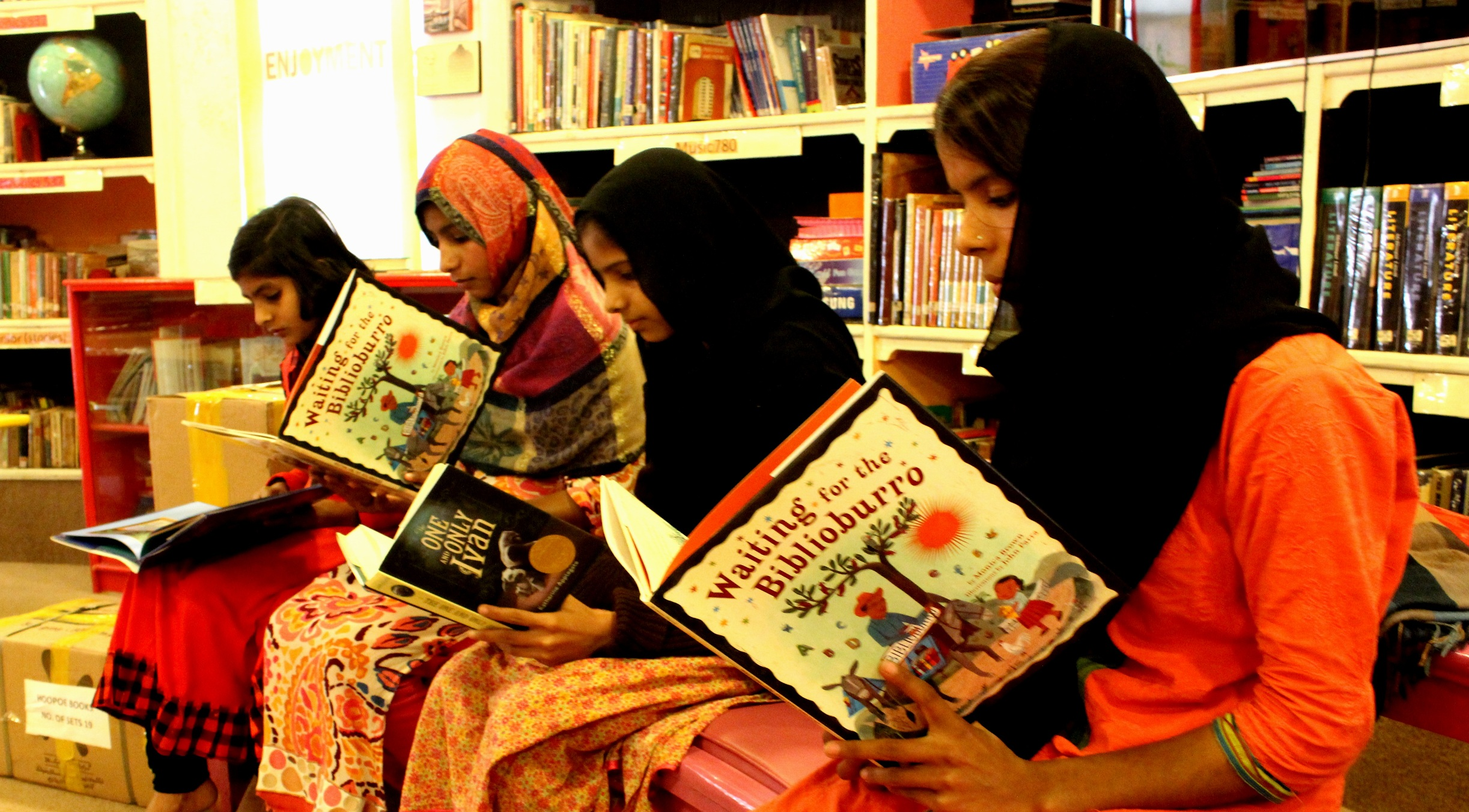 WaterBridge Outreach: Books + Water